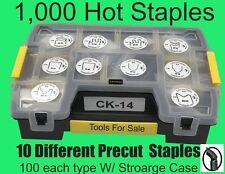 Cobra Hot Staples, Kit of Ten.  CK-14