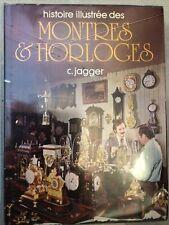 Livre Montres & Horloges (c.jagger) 1977