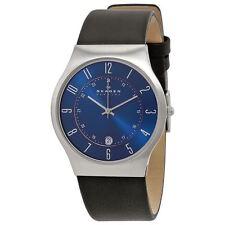 Skagen Men's Quartz Leather Stap Watch with Date 233XXLSLN