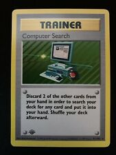 New listing Pokemon Computer Search 71/102 1st Edition Base Set Shadowless