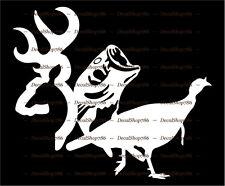 Deer-Fish-Turkey - Outdoor Hunting & Fishing - Vinyl Die-Cut Peel N' Stick Decal