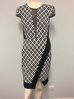 Mei Mei black and white dress, size 10 Women's Work/Party/cocktail