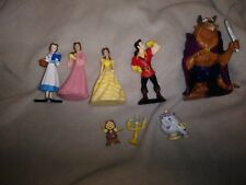 Beauty and the beast playset 8 piece
