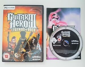 Guitar Hero III (3): Legends of Rock - PC DVD-ROM - RARE - Free, Fast P&P!