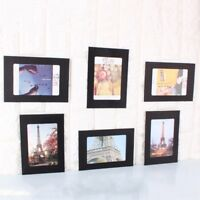 10pcs Wall Photo Frame W/10pcs Clips DIY Retro Kraft Paper Hanging Picture Album