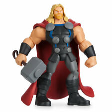 """Authentic Disney Thor Action Figure with Mjolnir Hammer - Marvel Toybox 6"""" H New"""