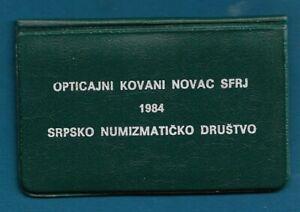 Yugoslavia SFRJ Serbia Coin Sets of All Nations Yugoslavia 1984. official set !