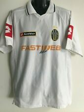 Juventus Turin Trikot 1993 1994 Medium Jersey Lotto Maglia Fastweb Shirt