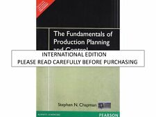 Fundamentals of Production Planning and Control by Stephen N. Chapman