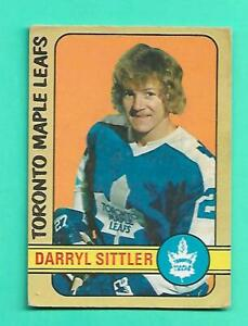 (1) DARRYL SITTLER 1972-73 O-PEE-CHEE # 188 LEAFS GOOD CARD (V1173)
