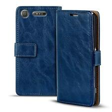 Handy Tasche Sony Xperia XZ1 Flip Cover Case Schutz Hülle Wallet  Etui