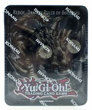 Yu-Gi-Oh Redox Dragon Ruler of Boulders Collectors Tin Trading Card Game NEW