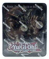 Yu-Gi-Oh Redox Dragon Ruler of Boulders Collectors Tin Trading Card Game NEW