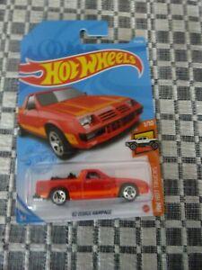 Hot Wheels 82 Dodge Rampage (Long Card)