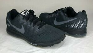 NIKE ZOOM ALL OUT LOW MEN'S BLACK RUNNING ATHLETIC SHOE US SIZE 9.5 (878671-001)