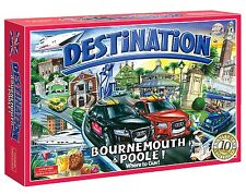 Destination Bournemouth & Poole Board Game 10th Anniversary Family Kid Xmas Gift