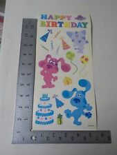 SANDYLION BLUE'S CLUES PARTY NICK JR. HAPPY BIRTHDAY STICKERS A2368