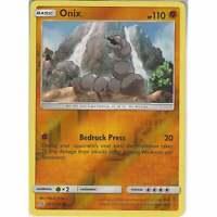 103/236 Onix   Common Reverse Holo Card   Pokemon SM11 Unified Minds TCG