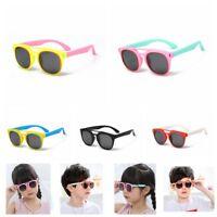 Children Kids Polarized Sunglasses Boys Girls Classic Sport Teen Cycling Glasses
