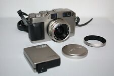 Contax G1-Green Label, Carl Zeiss Biogon 28mm F2.8, Contax Tla140 Set