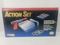 Nintendo NES Video Game Console, Original Box/Cords/Controllers/1 Game Authentic