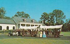 "*Florida Postcard-""Conestoga Wagon Trail"" /Foster Memorial-White Springs (U1-903"