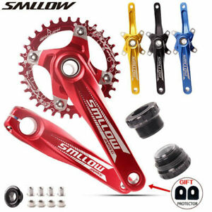 SMLLOW MTB Bike Crankset With Bottom 104BCD Crank Set 170mm 34T Road Bike Crank