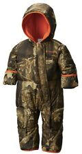 Columbia Infant Camo Timberwolf Snuggly Bunny Bunting Snowsuit 6-12 months