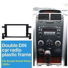 For Suzuki Grand Vitara 2005+ Car Stereo Radio Fascia Panel Plate Frame kit 2DIN