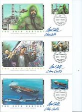 1980'S CELEBRATE THE 20TH CENTURY FDC'S, 15 COVERS, BERLIN WALL, PRINCESS DIANA