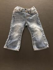 Baby Gap Toddler Girls Trendy Wash Legging Jeans, Size 18-24 Months flare
