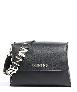 VALENTINO BAGS ALEXIA SYNTHETIC HANDBAG -  VBS5A803 - BLACK