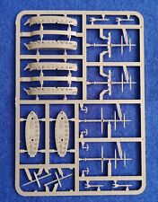 Warlord Games Black Seas Brig Sprue, ratlines, data card, sails and Wake Marker
