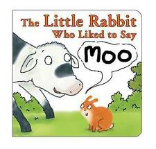 The Little Rabbit Who Liked to Say Moo, Allen, Jonathan, New Book