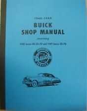 1948 1949 Buick Special Super Roadmaster Shop Service Repair Manual 40 50 70 Ser