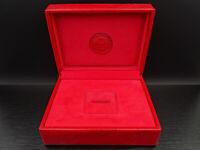 K667⭐⭐ Luxus Vintage ROLEX Ring LEDER BOX 003.00.02 Rot  ⭐⭐