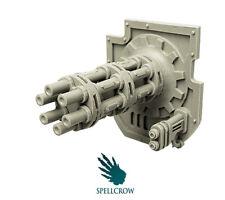 SPELLCROW Gatling Cannon IMPERIAL SUPER HEAVY KNIGHT TITAN 28 MM BITS SPC PDT