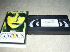 I AM CURIOUS (YELLOW) 1967 Lena Nyman Borje Ahlstedt (vhs) English Subtitles, NR