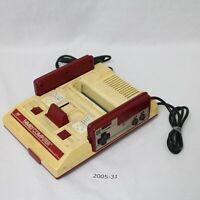 NES Console Nintendo Official Japanese Working HVC-001 Original Good! 2005-031