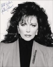JACKIE COLLINS - PHOTOGRAPH SIGNED