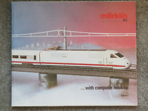 Maerklin Märklin 1985/86 English H0 Catalogue with price list.
