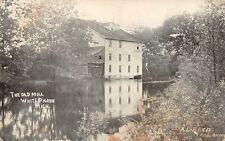 WHITE PIGEON Michigan US USA postcard St Joseph County The Old Mill 1908