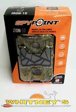 SpyPoint Iron-10 Trail Camera / Surveillance SPT 10MP Cam HD Invisible LED Video