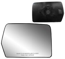 2004-2012 Ford F150 Passenger Side Non-heated Mirror GLASS with Backing Plate