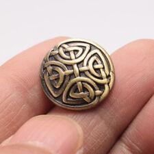 20PCS Coat Sewing Craft DIY 17MM Antique Bronze Metal Knot Shank Buttons