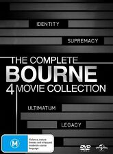 The Complete Bourne (DVD, 2012, 4-Disc Set)