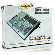 Reloj Digital PSV World Time Calendar