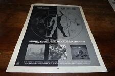 PINK FLOYD - Publicité de magazine / Advert MORE - OBSCURED BY CLOUDS !!! UK