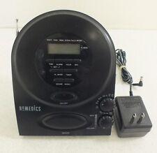 HoMedics SS-400B Nature Sounds Clock Radio Sound Soother Satisfaction Guaranteed