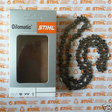 "12"" 30cm Genuine Stihl RMS 1/4"" Chainsaw Carving Chain Cannon 63 DL Tracked Post"